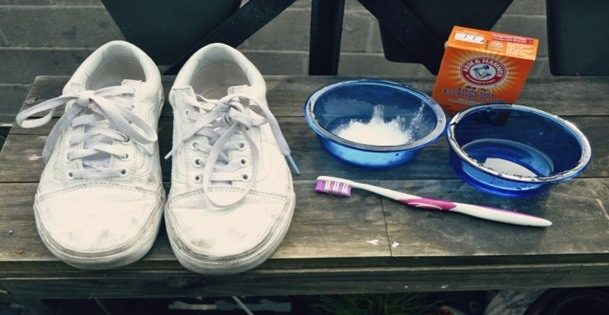How to clean fabric shoes at home