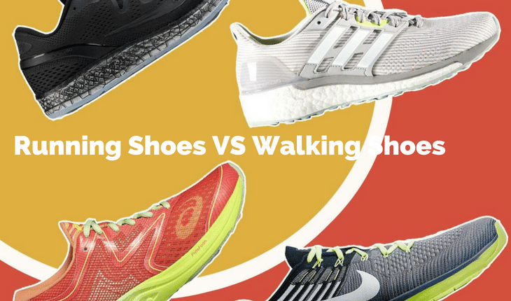 Difference Between Walking And Running Shoes